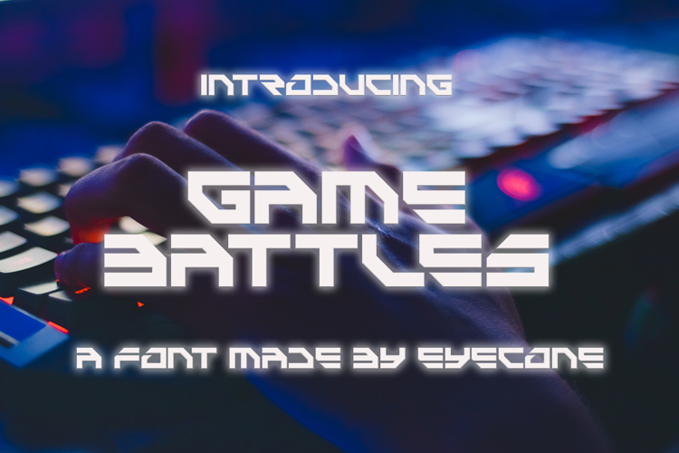 Game Battles Font