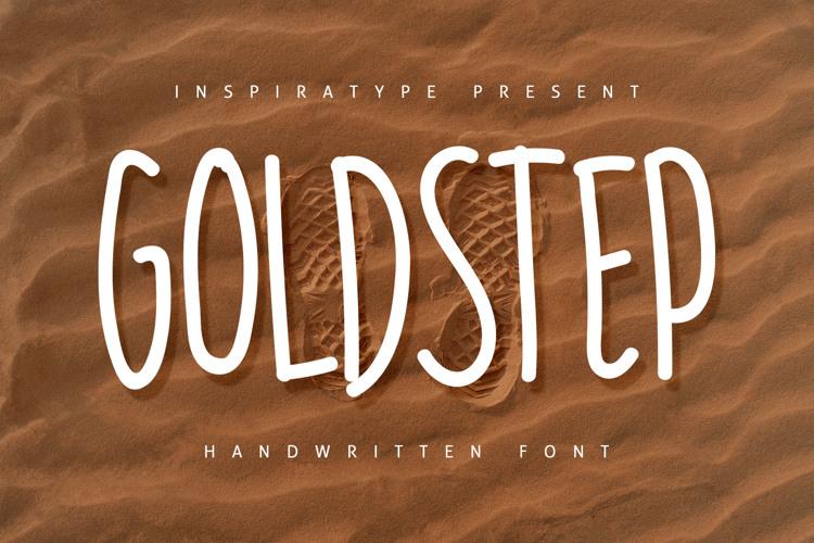 GOLDSTEP Font