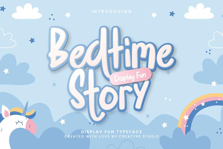 Bedtime Story Regular Font