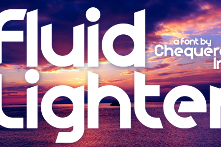 Fluid Lighter Font