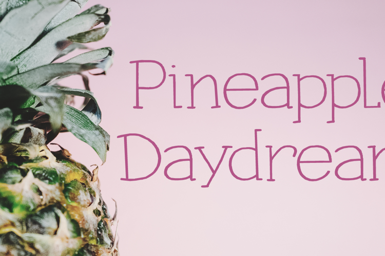 Pineapple Daydream DEMO Font