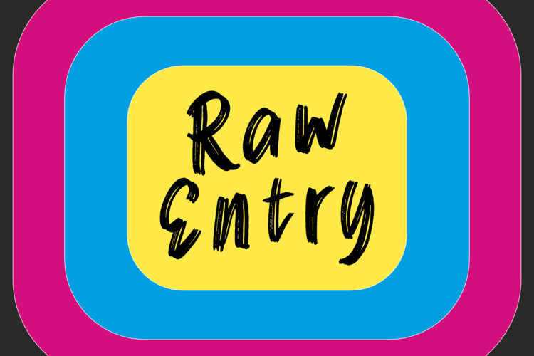 Raw Entry Font