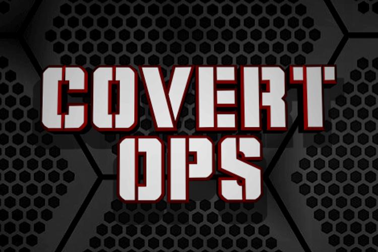 Covert Ops Font