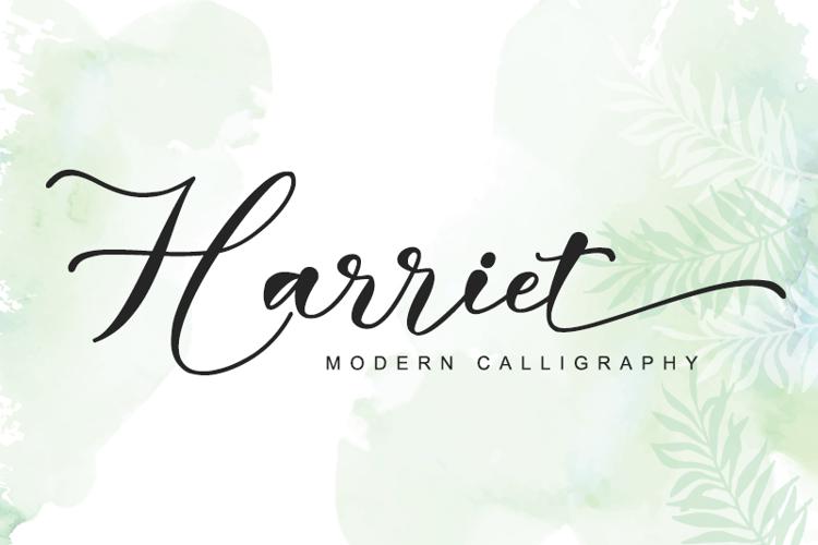 Harriet - Font