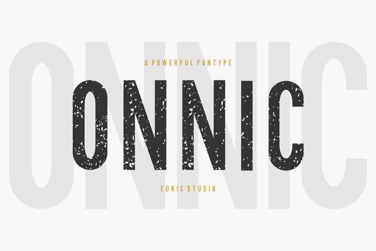 ONNIC Font