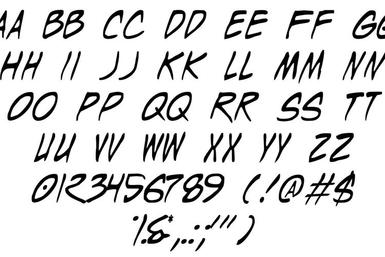 Wyld Stallyns Font
