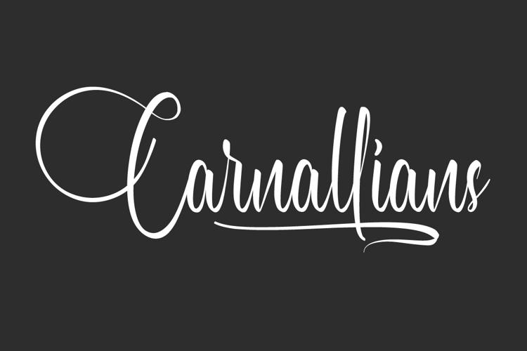 Carnallians Font