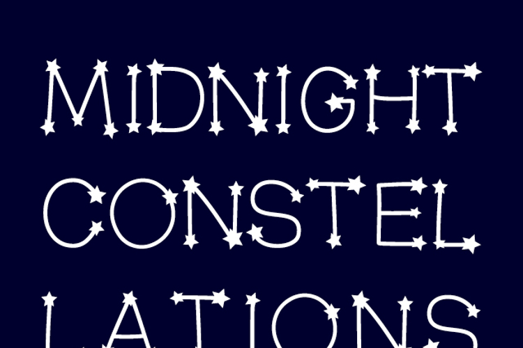MidnightConstellations Font
