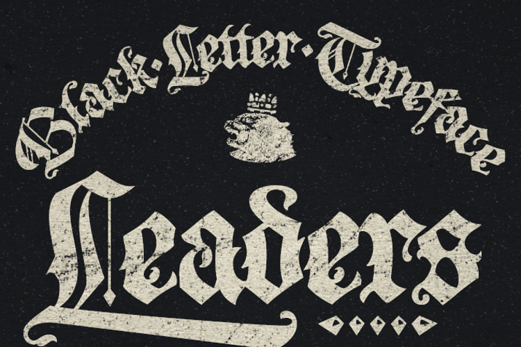 Leaders PERSONAL USE Font