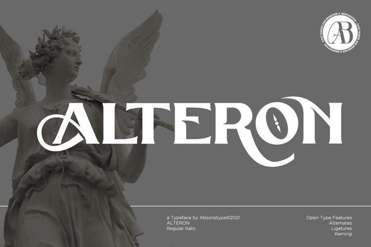 ALTERON Font