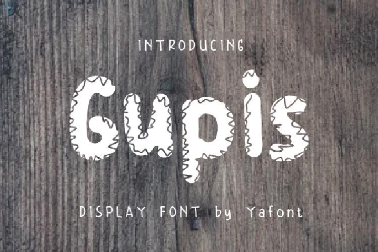 Gupis Font