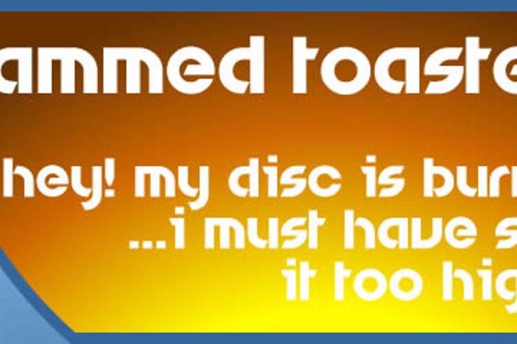 Jammed Toaster Font
