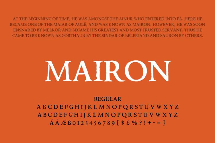Mairon Font