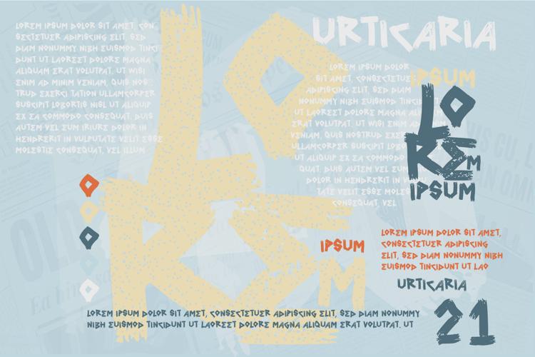 vtks urticaria Font