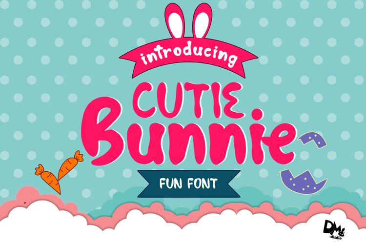 Cutie Bunnie Font