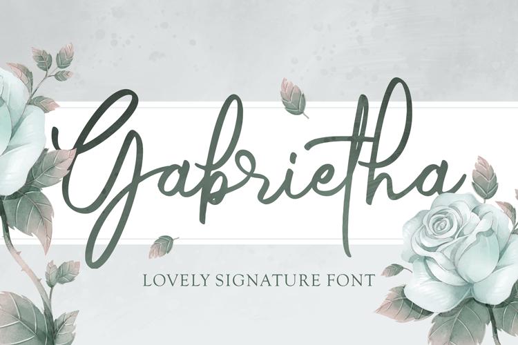Gabrietha Font