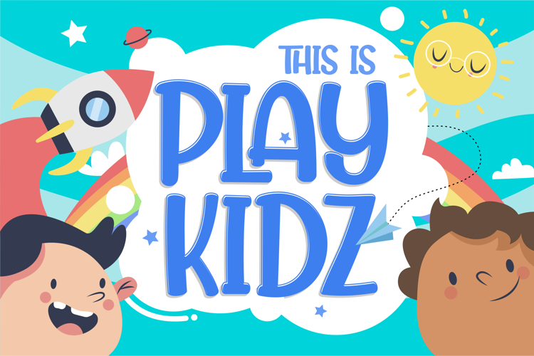 Play kidz Font