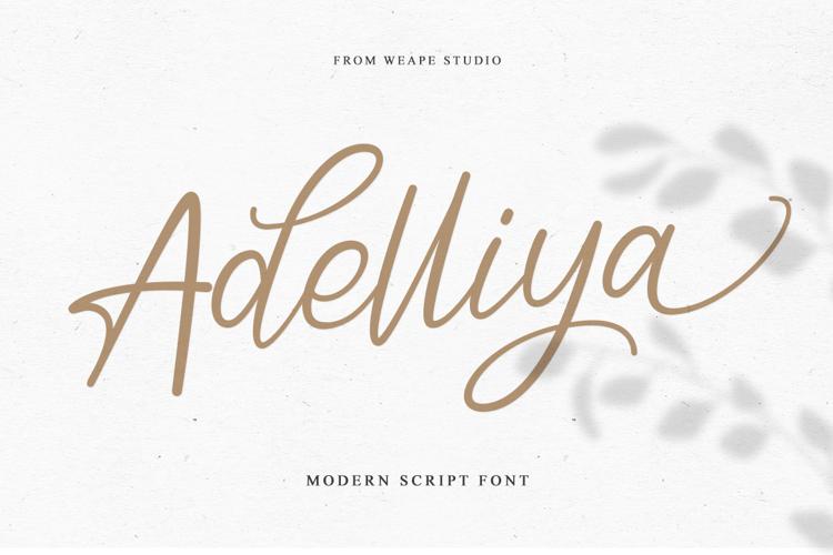Adelliya Font