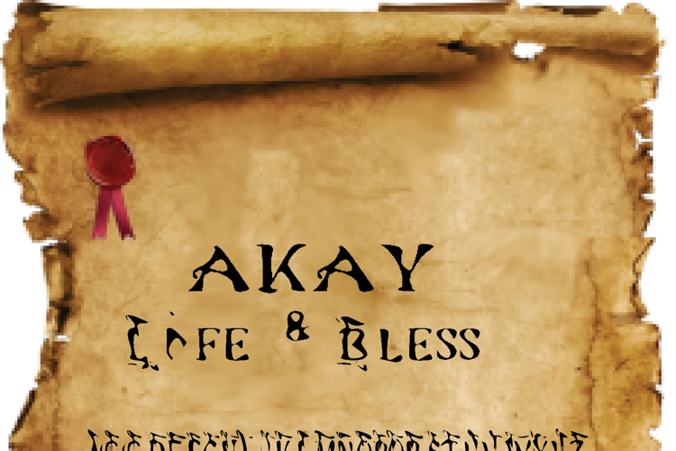 akay Font