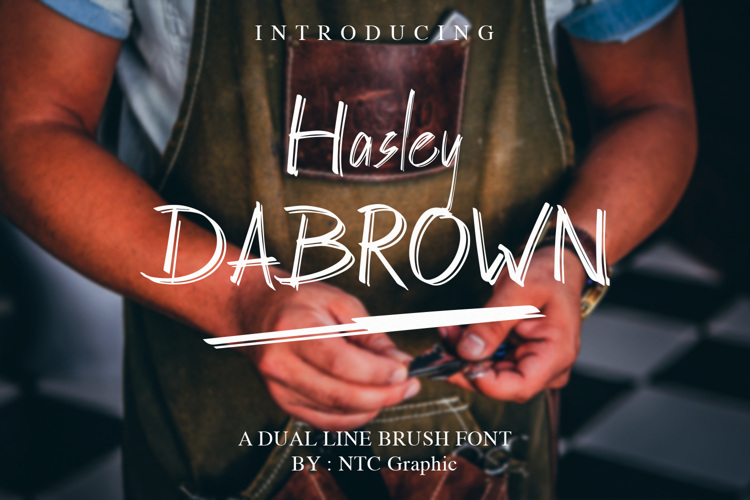 Hasley Dabrown Font