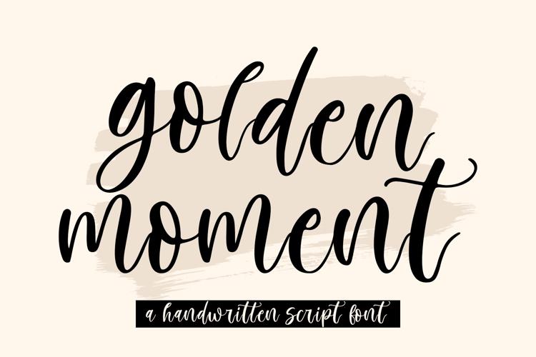 Golden Moment Font
