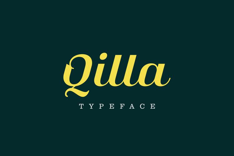 Qilla Font