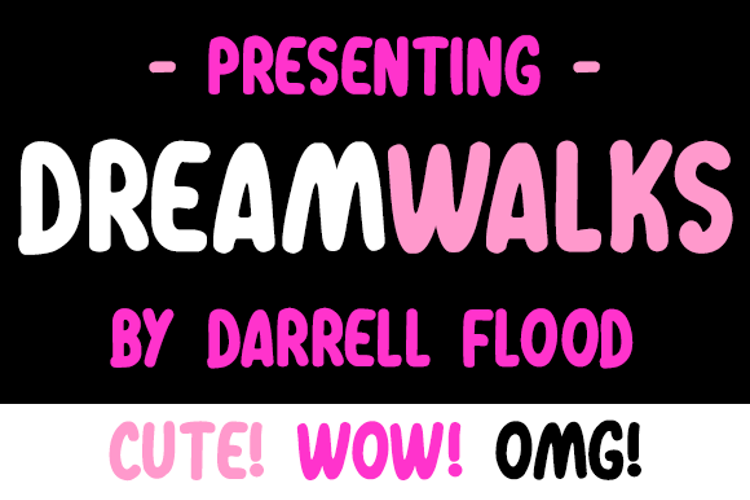 Dreamwalks Font