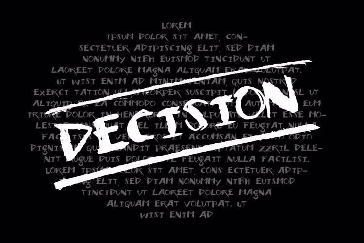 Vtks Decision Font