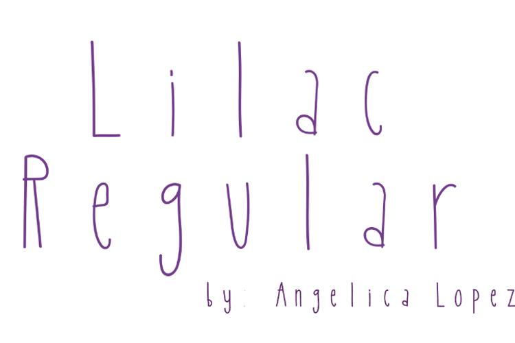 Lilac Font