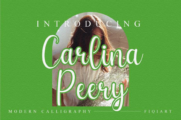 Carlina Peery Font