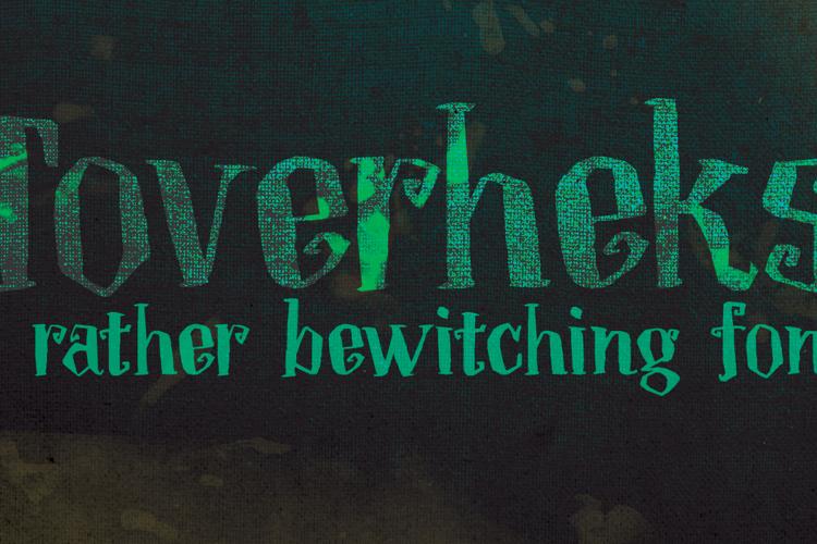 DK Toverheks Font