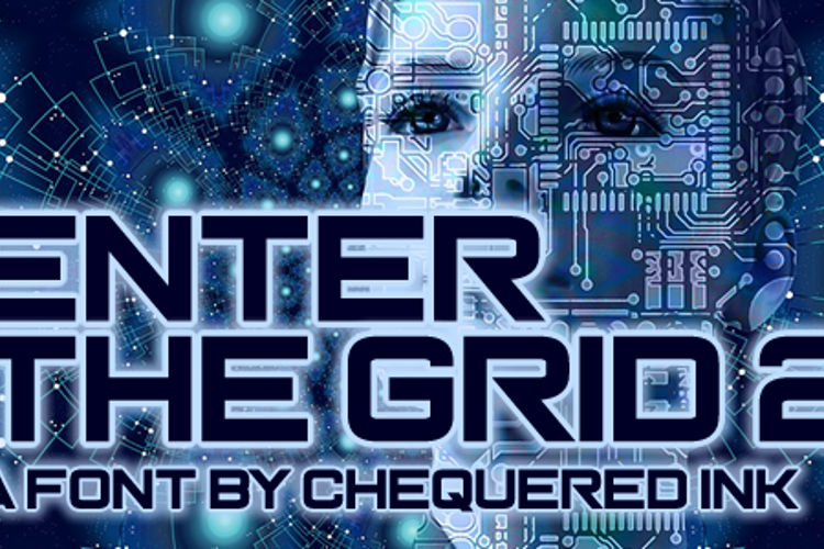 Enter the Grid 2 Font