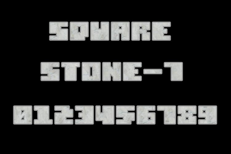Square Stone-7 Font