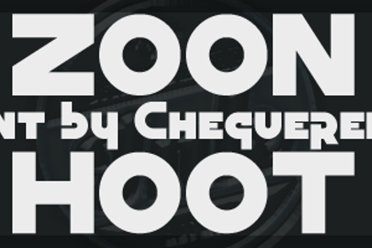 Zoon Hoot Font