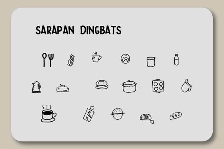Sarapan Font