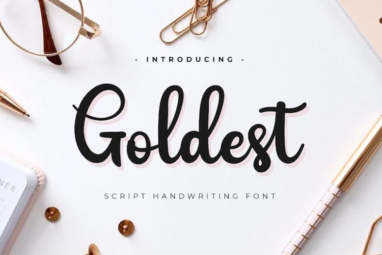 Goldest Font