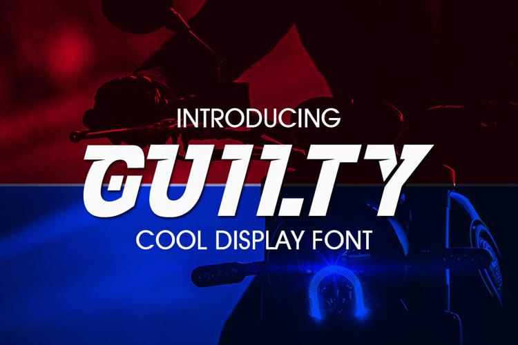 GUILTY Font