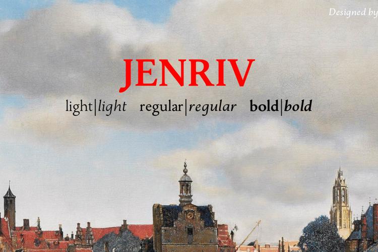 Jenriv Font