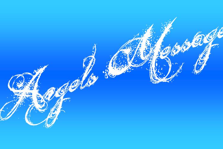 Angels Message Font