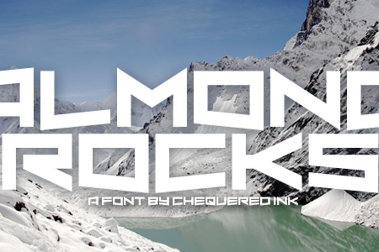 Almond Rocks Font