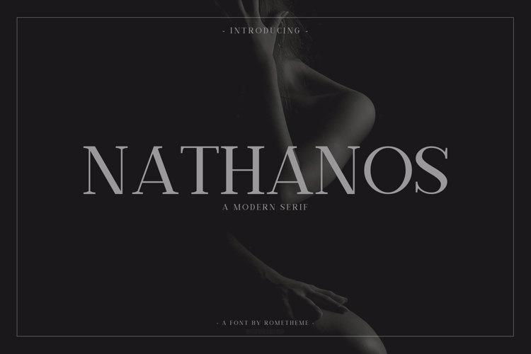 Nathanos Font