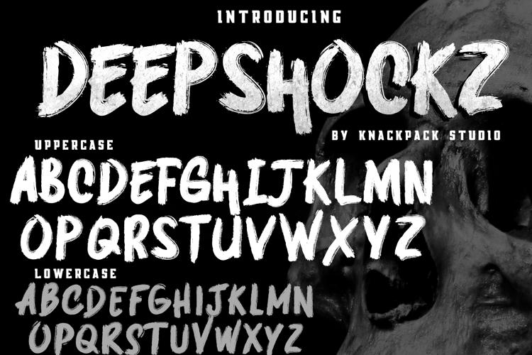 DEEPSHOCKZ   DEMO Font