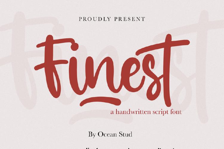 Finest Font