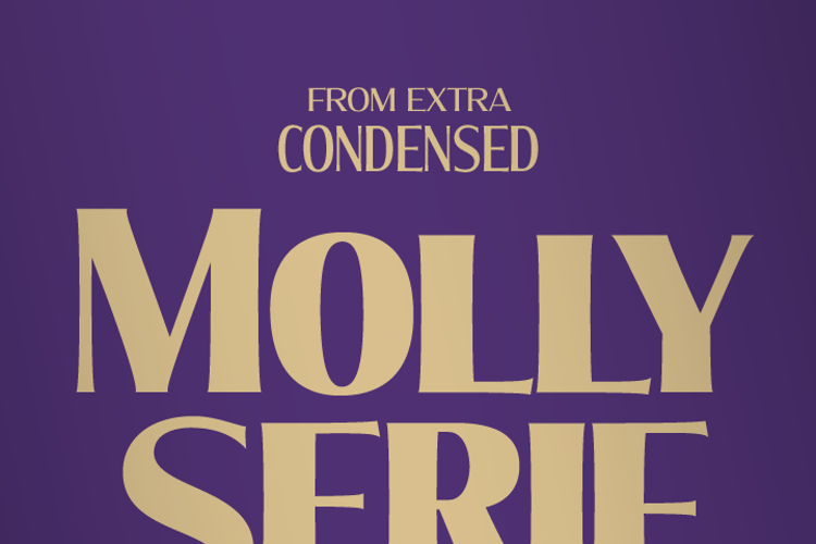 Molly Serif Expanded Font