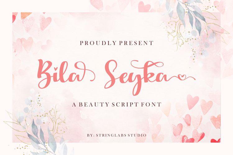 Bila Seyka Font
