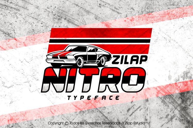 Zilap Nitro Font