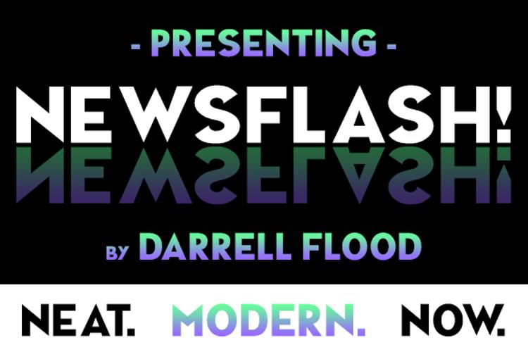 NEWSFLASH Font