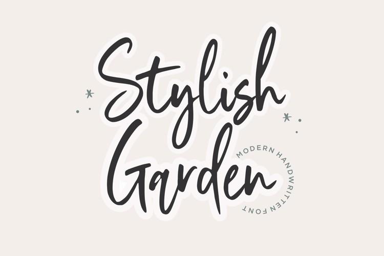 Stylish Garden Font