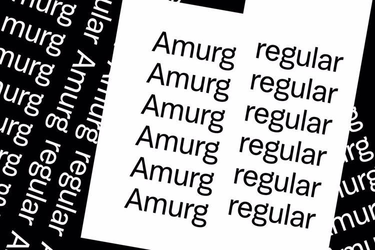Amurg Font