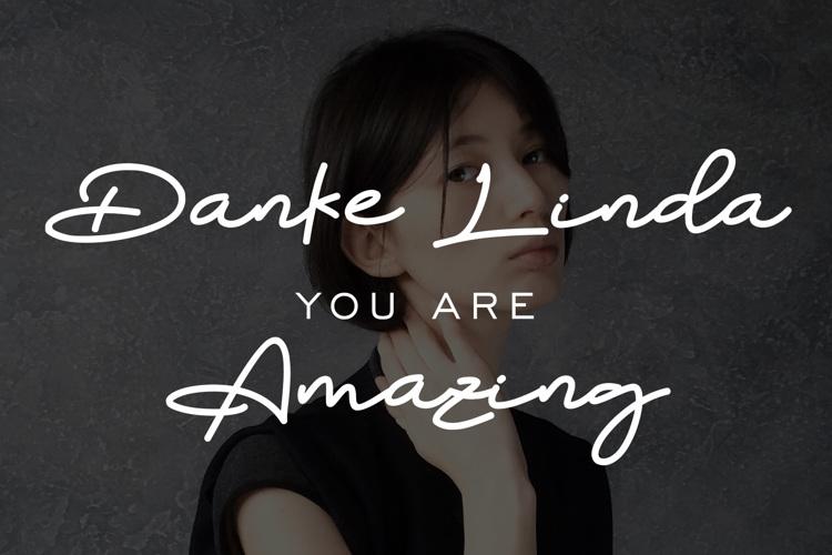 Danke Linda Font